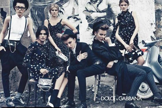 Dolce & Gabbana тенденции моды осень-зима 2011-2012