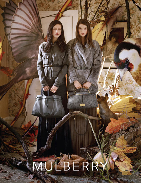 mulberry тенденции моды осень-зима 2011-2012