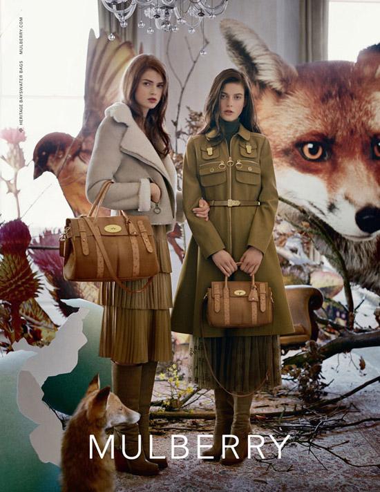 mulberry. тенденции моды осень-зима 2011-2012