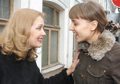 Ирина Алферова с дочерью Ксенией