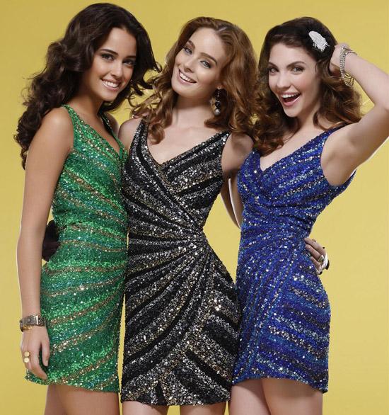 Новогодние наряды 2012 года