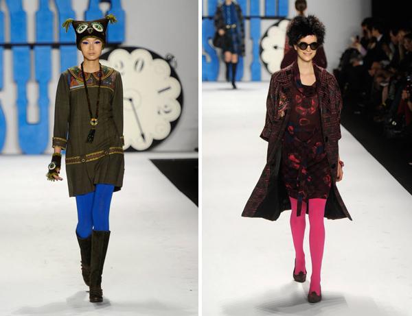Женские колготки мода