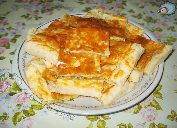 Сырный пирог с морковью